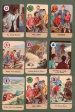 The Famous Five adventures by Enid Blyton, Pepys card game